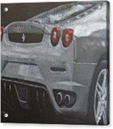 Rear Ferrari F430 Acrylic Print