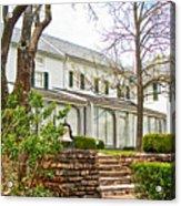 Rear Of Eisenhower Home In Gettysburg National Military Park-pennsylvania Acrylic Print