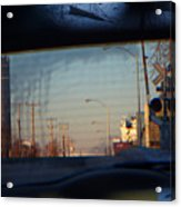 Rear View 2 - The Places I Have Been Acrylic Print