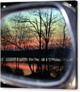 Rearview Mirror Acrylic Print