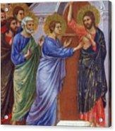 Reassuring Thomas Fragment 1311 Acrylic Print