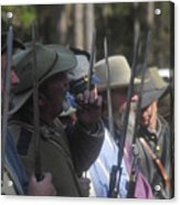 Rebel Bayonets Acrylic Print