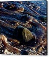 Receding Waves Acrylic Print