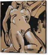 Reclining Female 1 Acrylic Print
