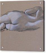 Reclining Nude 1 Acrylic Print