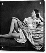 Reclining Nude, 1859 Acrylic Print