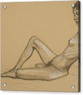 Reclining Nude 3 Acrylic Print