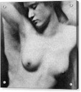 Reclining Nude, C1910 Acrylic Print