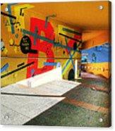 Recoleta Tunnel Acrylic Print