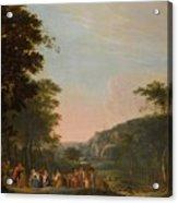 Reconciliation Of Jacob And Esau Acrylic Print