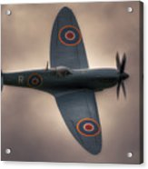 Reconnaissance Spitfire Pl965r Mkxi Acrylic Print
