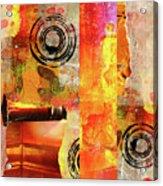 Reconstruction Abstract Acrylic Print