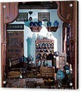 Reconstruction Of Traditional Arabic Acrylic Print