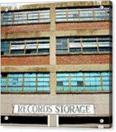 Records Storage- Nashville Photography By Linda Woods Acrylic Print
