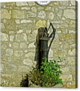 Rectory Mansion And Hand Pump - Brading Acrylic Print
