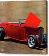 Red 1932 Ford Hot Rod  Acrylic Print