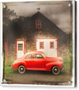 Red 41 Coupe Acrylic Print