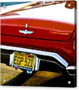 Red '57 T-brid Acrylic Print
