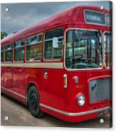 Red And White Rs 167 - Bristol Resl6l  #2 Acrylic Print