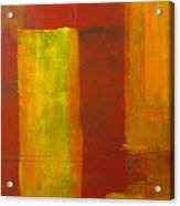 Red And Yellow #1 Acrylic Print