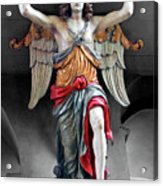 Red Angel One Acrylic Print