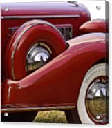 Red Antique Car Acrylic Print