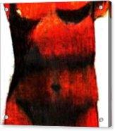 Red Aphrodite Acrylic Print