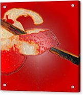 Red Apple Acrylic Print
