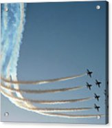 Red Arrows - 1 Acrylic Print by Graham Taylor