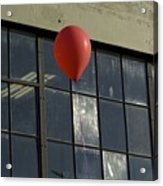 Red Balloon Acrylic Print