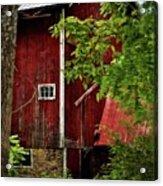 Red Barn 1 Acrylic Print