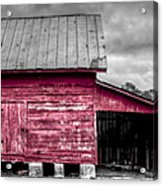 Red Barns At Windsor Castle Acrylic Print