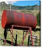 Red Barrel Acrylic Print