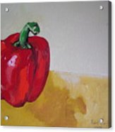 Red Bell Acrylic Print