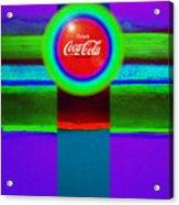 Red Brand Acrylic Print