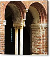 Red Brick Arches Regular Acrylic Print
