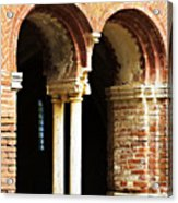 Red Brick Archway Soft Acrylic Print