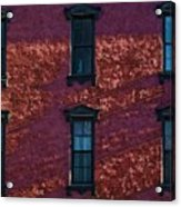 Red Brick Building Nyc Acrylic Print