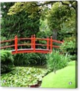 Red Bridge No 2 Acrylic Print