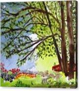 Red Brtdge Acrylic Print