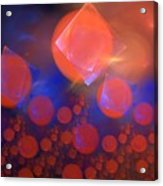 Red Bubble Suns Acrylic Print