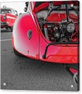 Red Bug Acrylic Print