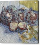 Red Cabbages And Onions Paris, October - November 1887 Vincent Van Gogh 1853  1890 Acrylic Print