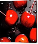 Red Candy Apples Or Apple Taffy Acrylic Print