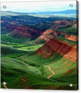 Red Canyon Acrylic Print