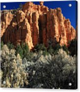 Red Canyon State Park In Utah Acrylic Print