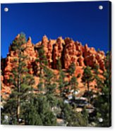 Red Canyon State Park Acrylic Print