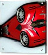 Red Car 007 Acrylic Print