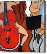 Red Cello 2 Acrylic Print