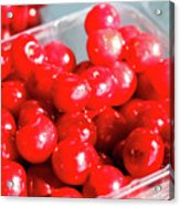 Red Cherries Acrylic Print